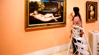 Painter in the Prado