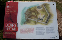 Sign Board for the South Fort at Berry Head